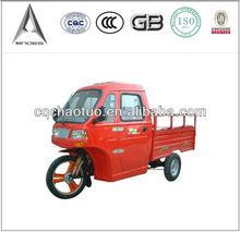 150cc/175cc/200cc/250cc three wheeler with cabin/cargo cabin tricycle