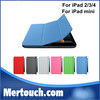 New 3 fold Smart Sleep Wake Stand Smart Cover Case For Apple iPad 2 3 4