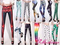 wholesale Cheap Digital Print Dlitter Cosmic galaxy leggings for women 2013 new leggings