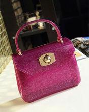 Lady Fashion Silicone Rubber Shoulder Bag Wholesale