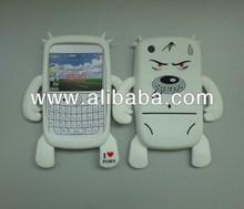 robot silicone phone case