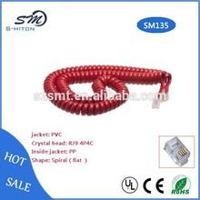 rj9 4p4c Telephone curve phone handset cord