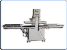 Double heads transfer printing machine for clothes