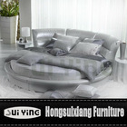 CY002 silver round beds furniture factory foshan shunde