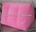 triângulo inflável travesseiro