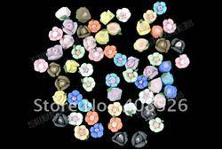 10pcs/lot 3D rose flower acrylic nail art decrations sticker397