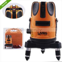 LAISAI LS629 Horizontal Line 4 Vertical Laser Level Lines 4V-1H-1D