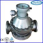 Positive displacement gas oil flow meter