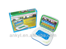 Kids plastic educational toys computers and laptops