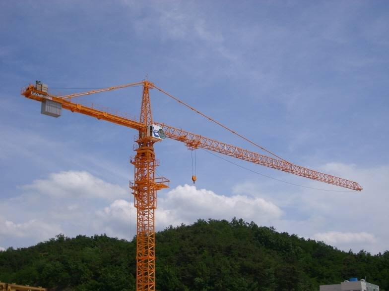 Hammerhead Tower Crane Tower Crane Knf 355i 12 Ton
