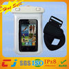 New fashion waterproof bag for cellphone, plastic pvc waterprof dry bag for HTC