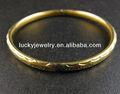 pulseiras de bronze sólido pulseiras de ouro chapeado