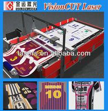 Contour Cut Printing Sign Fabric/Laser Cutting Machine