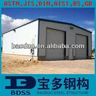 BV auto aluminium steel structure framework