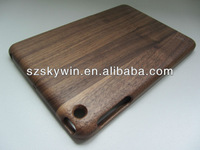 New Luxury Natural Bamboo Wood Hard Shall Case Cover for iPad Mini