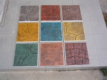 Pattern Stamped concrete supplies