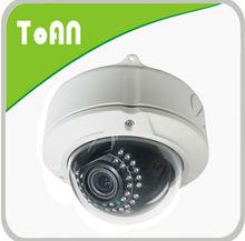 TOAN IP66 30m Night Vision IR cctv varifocal lens osd cctv dome camera 480tvl