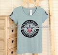 Moda stil sıcak satış Kore kızın t- shirt, 2013 düz tişört%