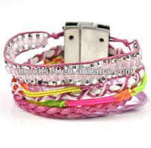 Charm Sunshine Pink Magnetic Bracelet 2013