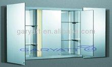Aluminium Illuminated Bathroom Mirror Cabinet SHIGAR-490