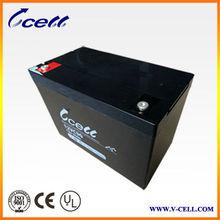 90Ah 12v UPS solar system battery 12VC90