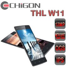 best model Thl W11 5 Inch FHD IPS 1920 1080P 1+16GB Front/Back 13.0MP/13.0MP Quad Core MTK6589T 1.5GHz Android 4.2 Mobile Phone