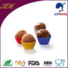 2014 Alibaba Express 11 Grams Cupcake Liner Silicone Cake Mold With Flower Shape