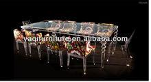cheap acrylic leisure table