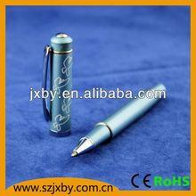 Promotional metal roller ball pen carbon fiber pen set swiss made ball pen