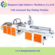 Heat-sealing and heat-cutting t-shit/vest/flat bag making machine