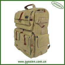 2013 custom Fashion design cheap canvas slr camera bag manufacturer