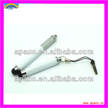 Retractable Capacitive Stylus Pen With 3.5mm Headset Dust Cap