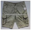 De carga de color caqui; los hombres pantalones cortos; de carga de las bermudas; la moda a corto