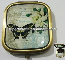 Customized Printed Pocket Mirror,Makeup Mirror,Compact Mirror Wholesale