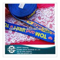Elastic Nylon Lycra Fold Tape For wristband