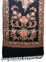bordado de lana de pashmina mantón
