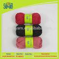 exportador de china de buena venta 6 capas teñido de lana de alpaca de hilados para tejer a mano