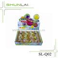 Moda led acender saltando brinquedo bola, miúdo brinquedos bola fábrica, led piscando bola sl-q02 fabricantes