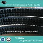 rubber v belt/ Raw edge cogged V-belt