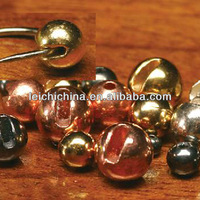 Wholesale fly tying tungsten slotted beads