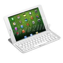 Wholesale multi-function Aluminium Alloy bluetooth keyboard Case cover for iPad Mini wake up&sleep