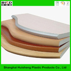 High-end decorative metal and pvc edge banding for office furniture