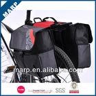 Waterproof leather bicycle saddle bag