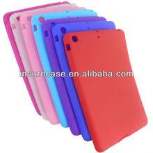 Washable Rubber Gel Silicone Soft Skin Case Cover for iPad Mini