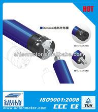 electric screen with tubular motor