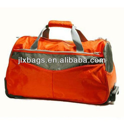 Trendy Trolley Travel Bag on Wheels Travel Trolley Luggage Bag for Outdoor