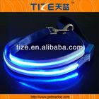 2014 New single line flashing leash wholesale TZ-PET 5102 led retractable dog leash