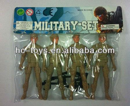 Plastik oyuncak ordu takımları asker ordusu oyun seti oyuncak