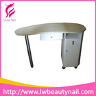 2013 Curved Nail Desk / Salon Nail Manicure Table