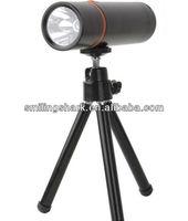 latest factory multifunction smilingshark tripod flashlight